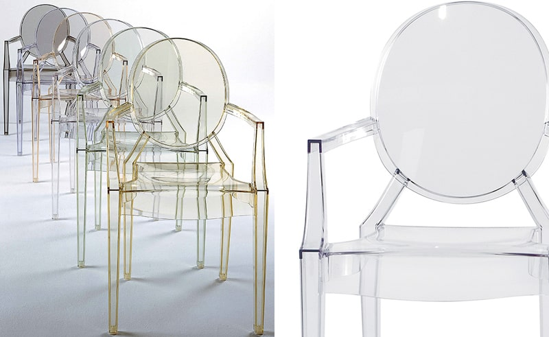 Louis Ghost Chair Philippe Starck Kartell 4