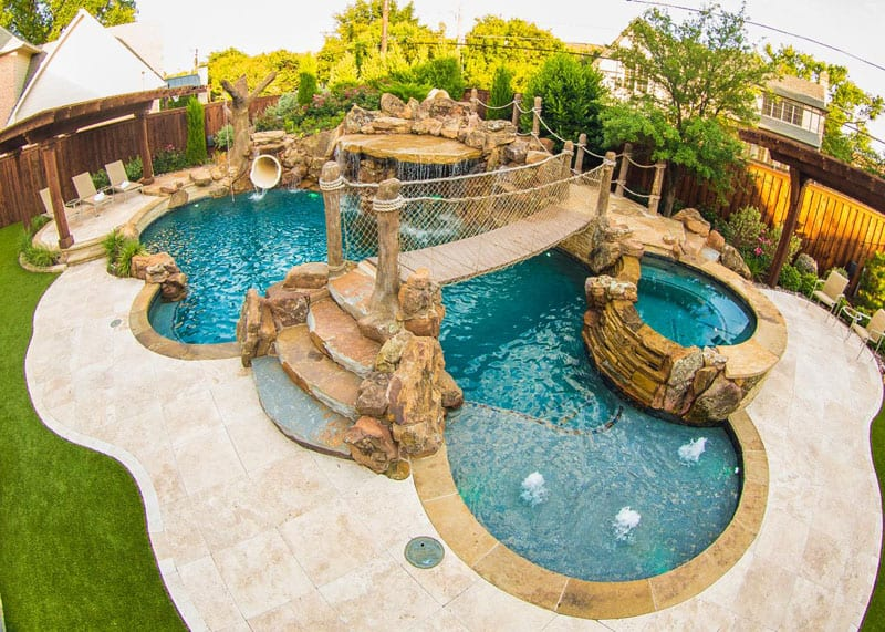 Charming Tropical Pools Design Designrulz (1)