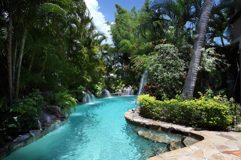 Lagoon Swimming Pool Designs: Amazing Collection Of 45 Tropical Pools