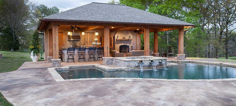 Pool House Designs - Jackson, MS