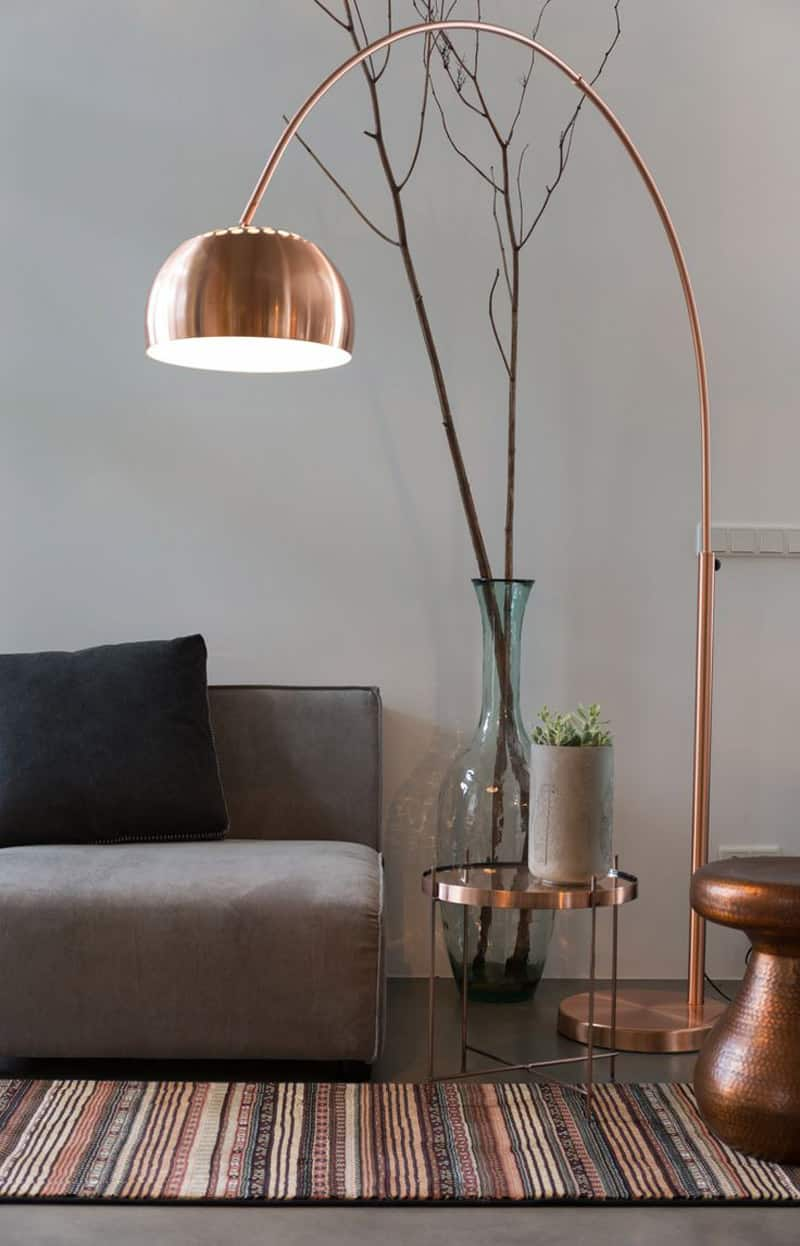 20 modern floor lamps that you can buy right now metalic interior decorations mozeypictures Gallery