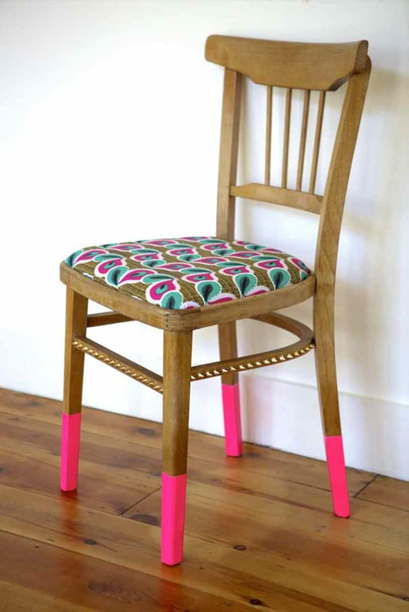 diy chair take a seat 20 diy colorful chair projects designrulz 535