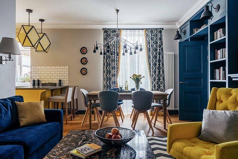 blue yellow apartment designrulz (11)