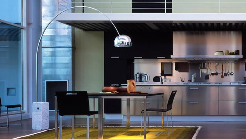 The arco floor lamp a modern icon