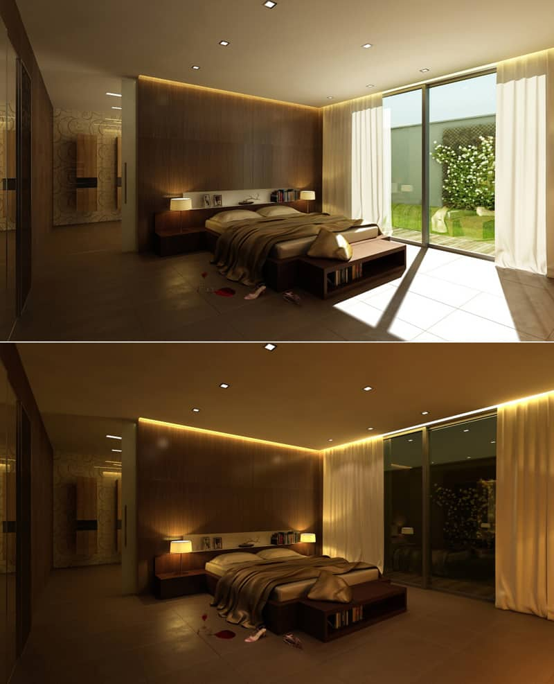 False ceiling design innovation 30 Examples Of Ceiling Design for Bedrooms