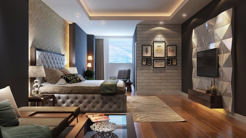 bedroom false ceiling designs.  30 Examples Of False Ceiling Design for Bedrooms