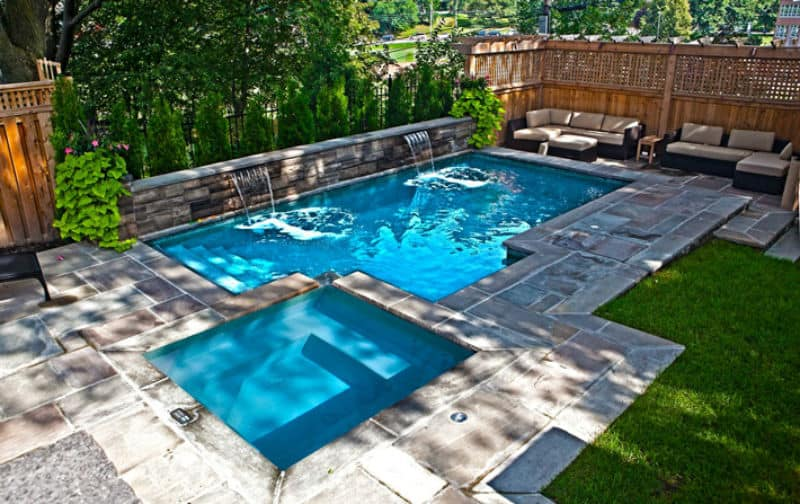30 small pool models turn your courtyard into a paradise for Pool design tips