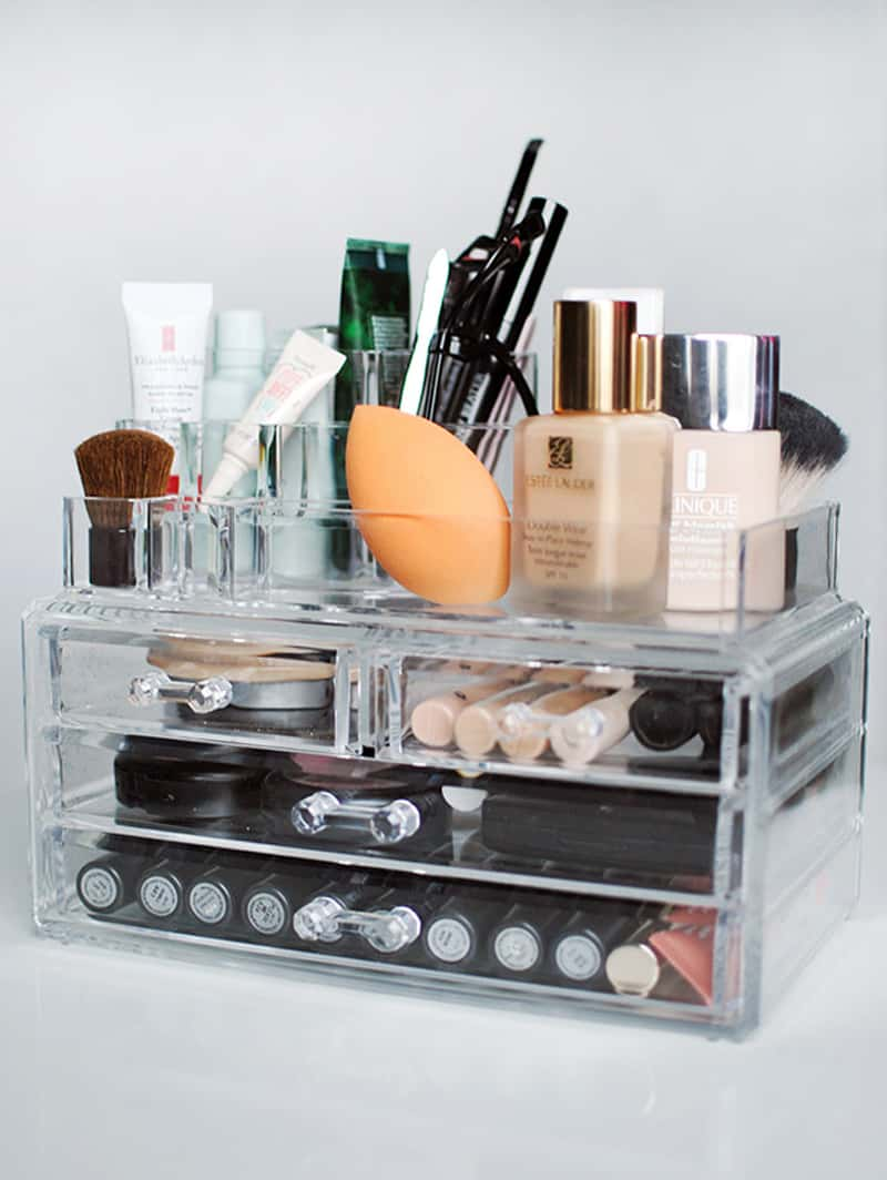 How To Organize My Makeup Drawers