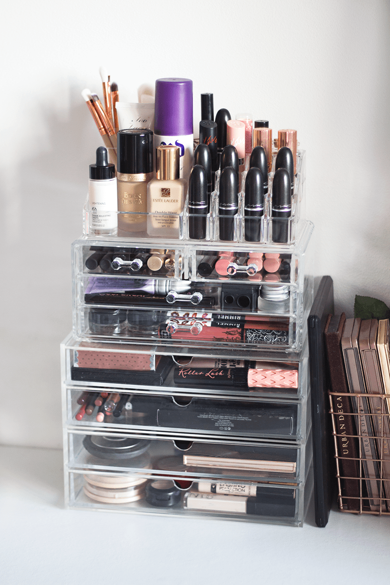 35 Ideas For Stylish Makeup Organizer At Home