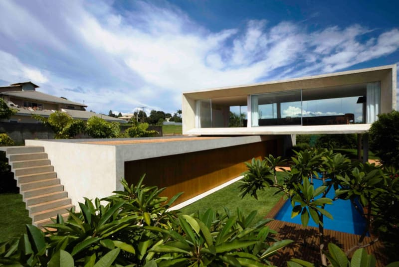 Equipe Lamas Designs A Contemporary Home In Brasilia, Brazil. This House ...