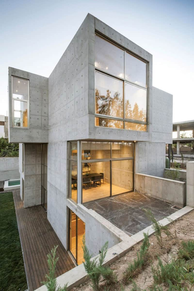 The latest beautiful modern homes in iran for Modern home design utah