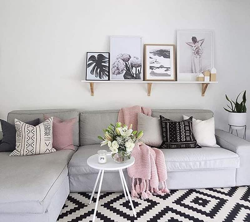 Pink Living Room Ideas: Pastel Colors Give A Milky Delicate Feel To Your Home