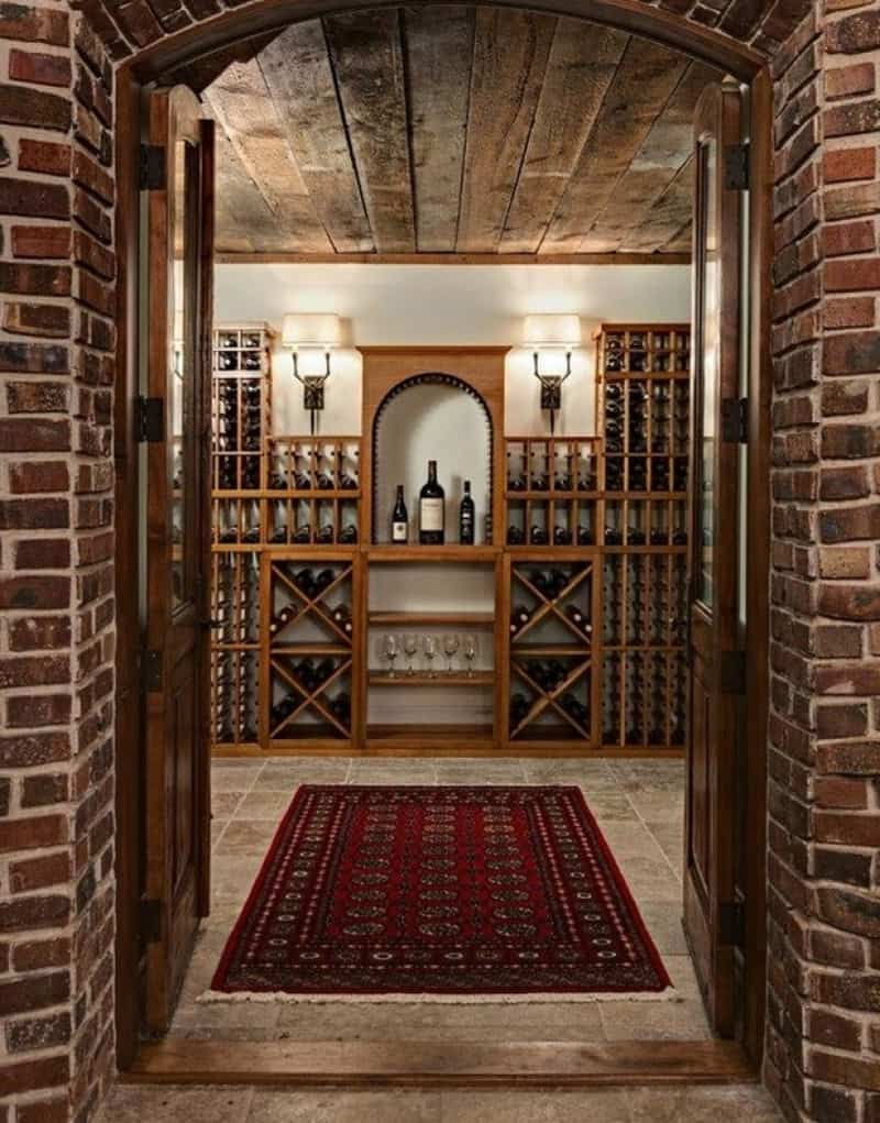 50 wine cooler ideas for any style and space for Wine cellar in house