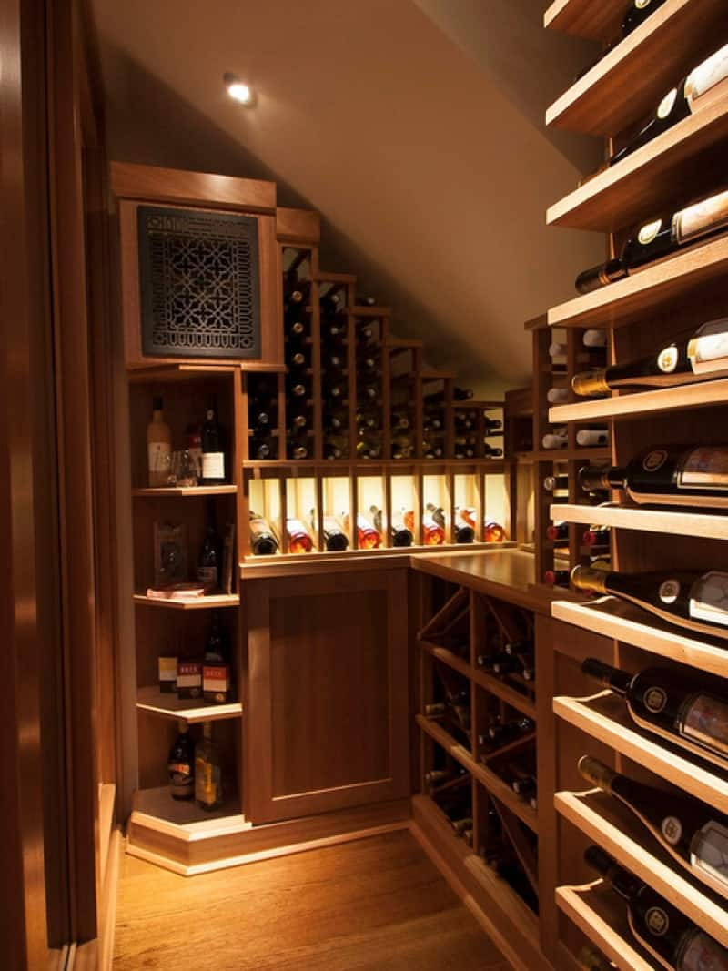 Wine Cooler Ideas For Any Style And Space - 32 amazing examples home wine cellars