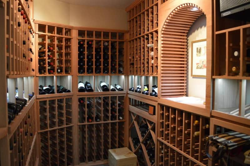 Wine Cellar Ideas Home Design: 50 Wine Cooler Ideas For Any Style And Space