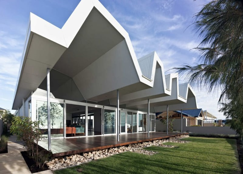 10 of the best beach houses worldwide for Beach house designs western australia