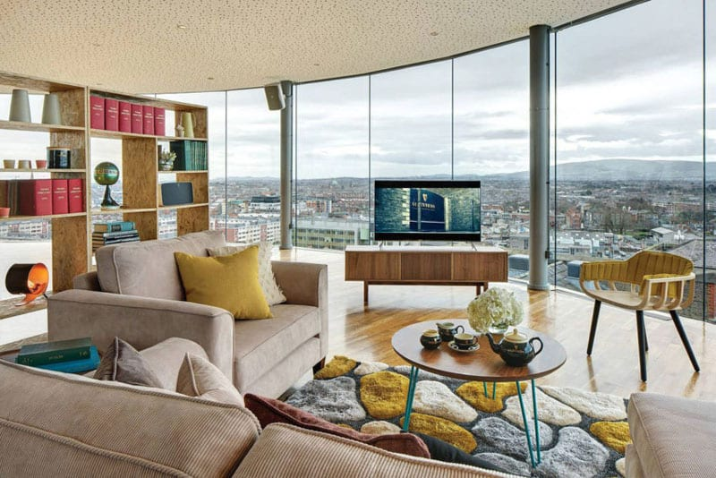 Ireland 39 s most exclusive bedroom at guinness storehouse for Exclusive bedroom designs