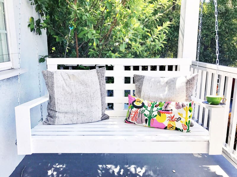 Well-known 25 Ideas: Porch Swing For Endless Outdoor Relaxation XH08