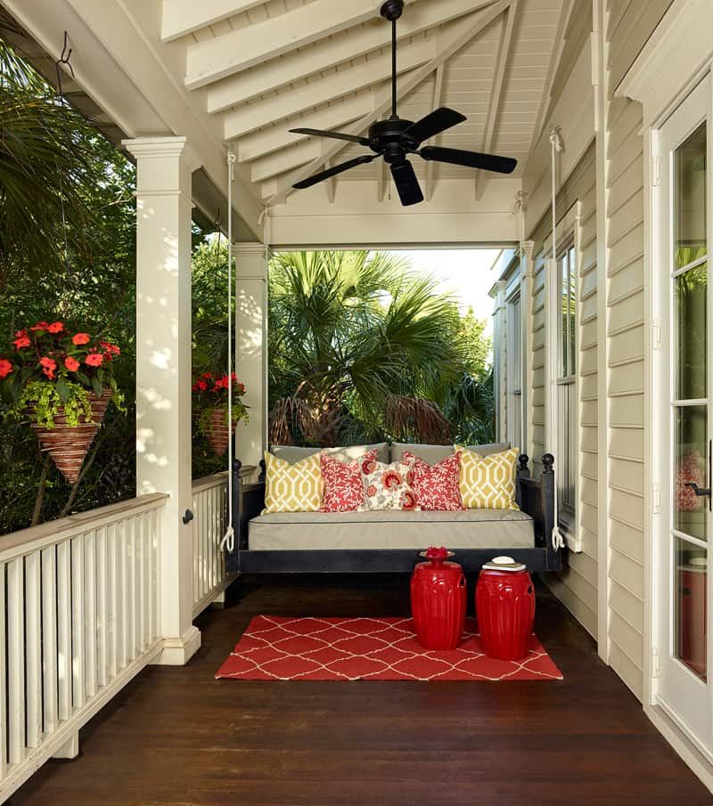 Outdoor Bench Front Porch