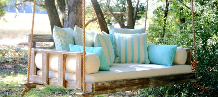 25 Ideas: Porch Swing For Endless Outdoor Relaxation