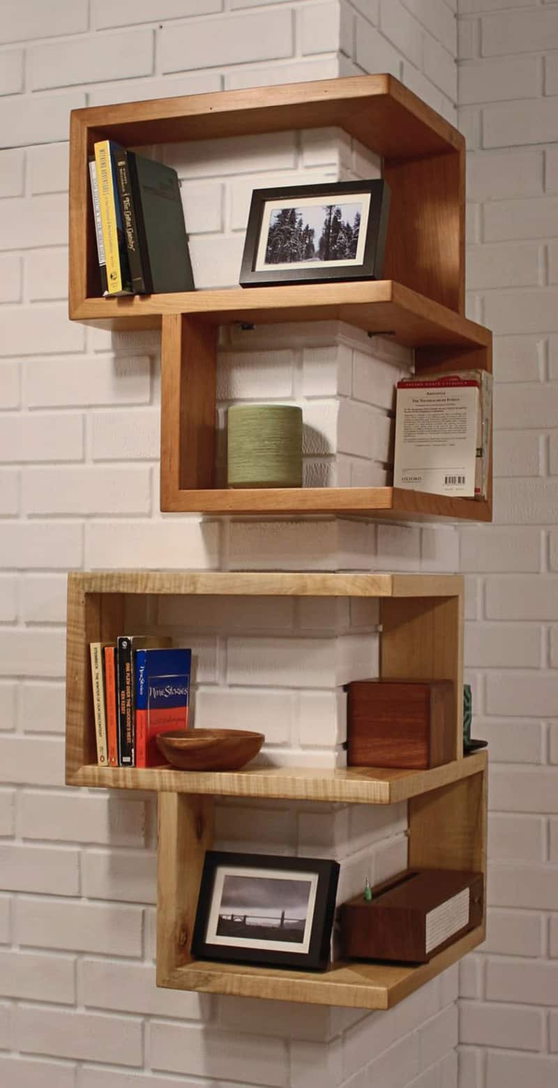 20 Smart And Functional Corner Shelves For Your Home