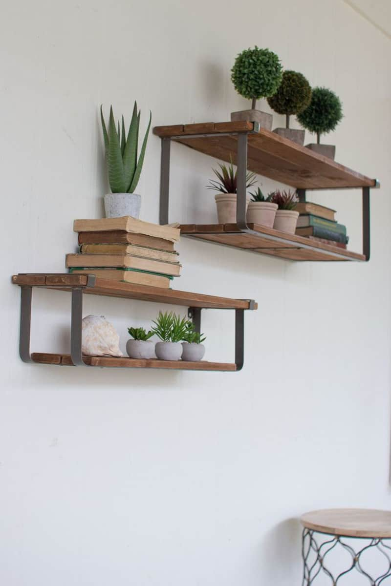 Room Shelves Design: 50 Amazing Floating Shelves To Create Contemporary Wall