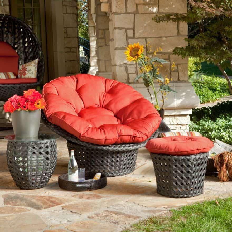 New Outdoor Papasan Chairs