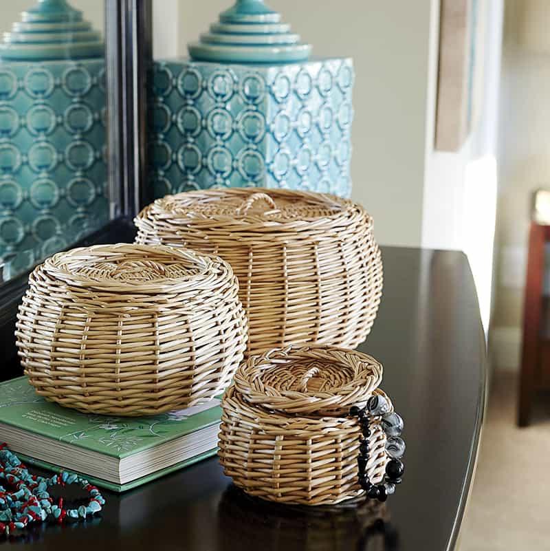 Fresh Wicker Storage Basket Photos Of Basket Decor