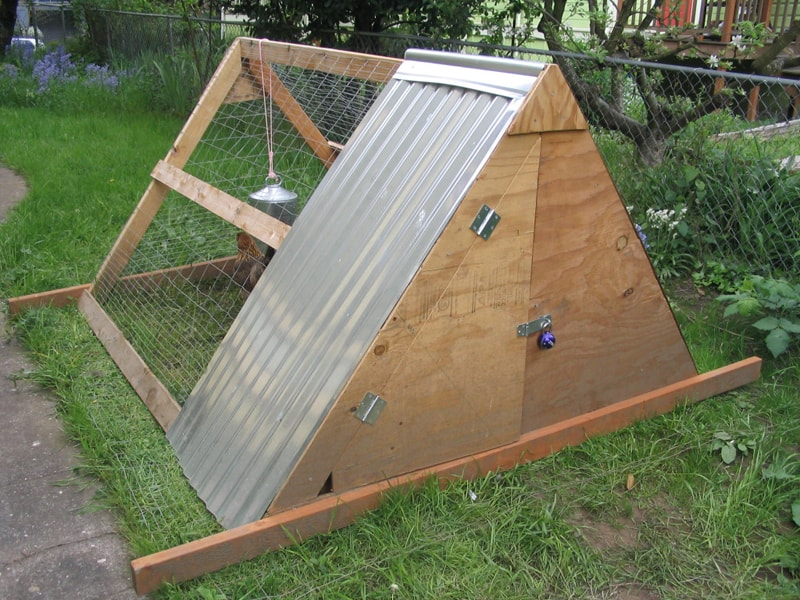 a triangle to a house or even an epic tower with glass conservatories but today we want to present you 15 creative modern a frame chicken coop designs - A Frame Chicken House Plans