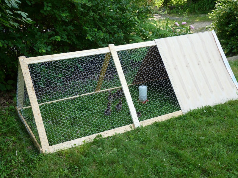 also view fairy gardens and miniature gardens make the space fabulous - A Frame Chicken House Plans