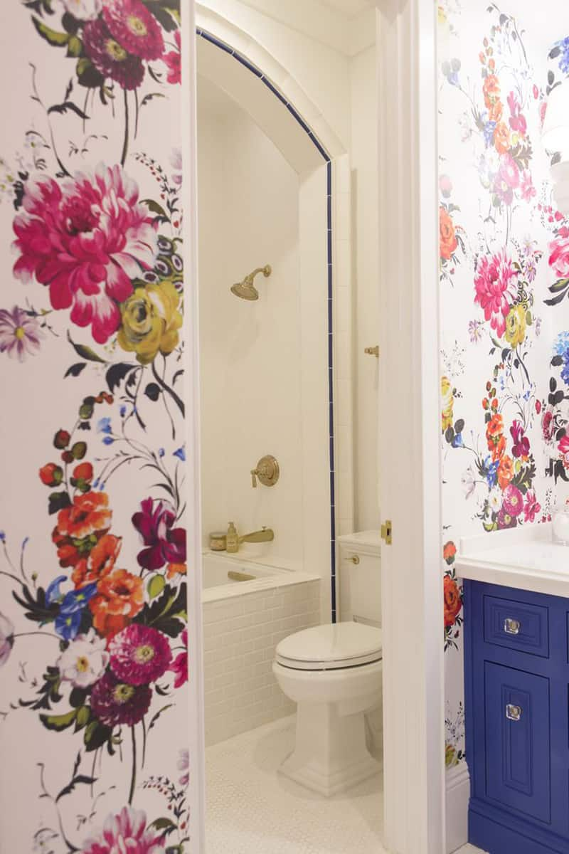 Flower Wallpaper For Murals With Personality