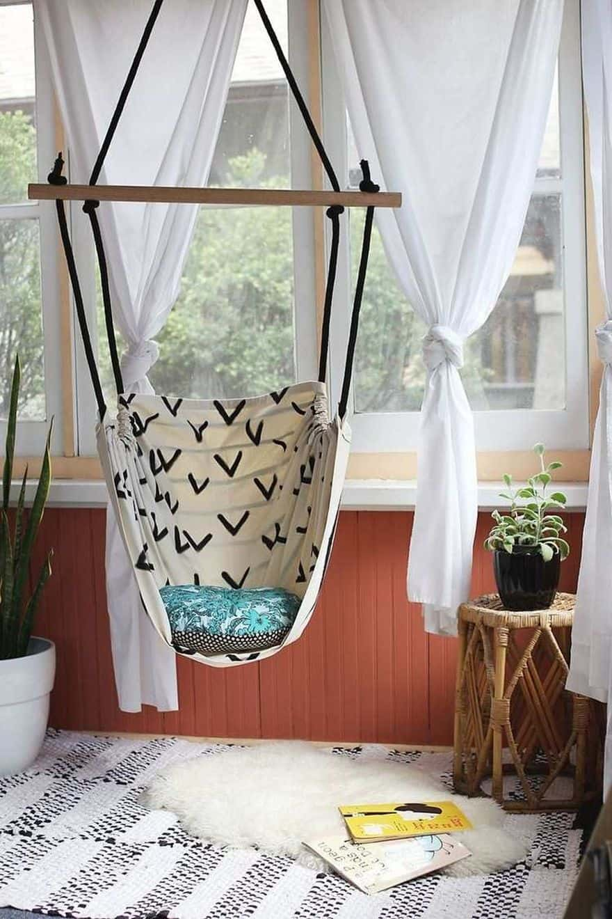 hanging an indoor hammock chair
