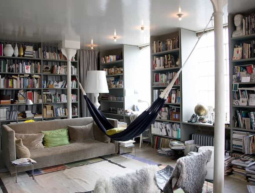 most beautiful indoor hammocks