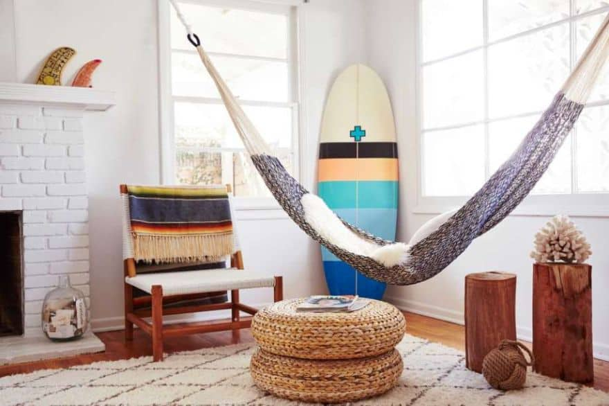 hammock bed indoor