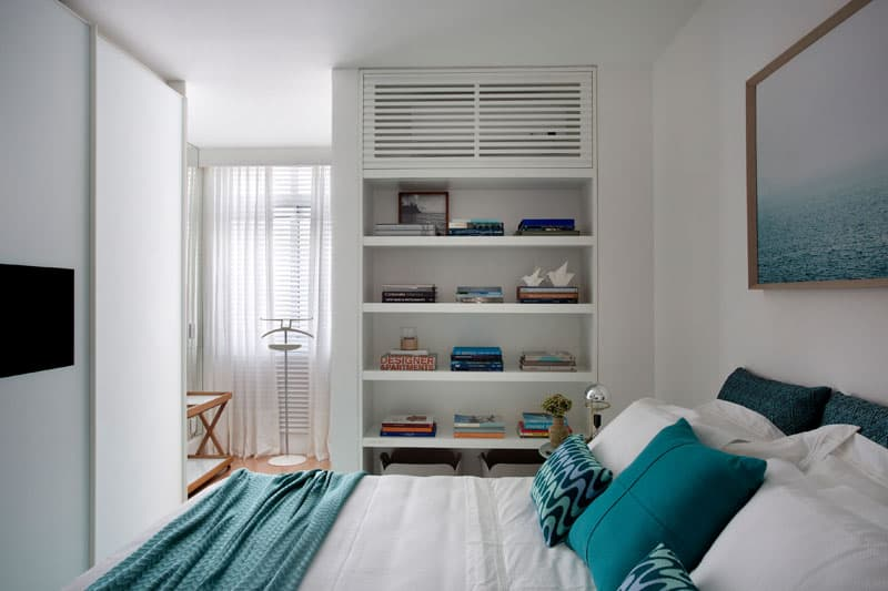 small air conditioning unit for bedroom how to hide the air conditioner unit with style 20837