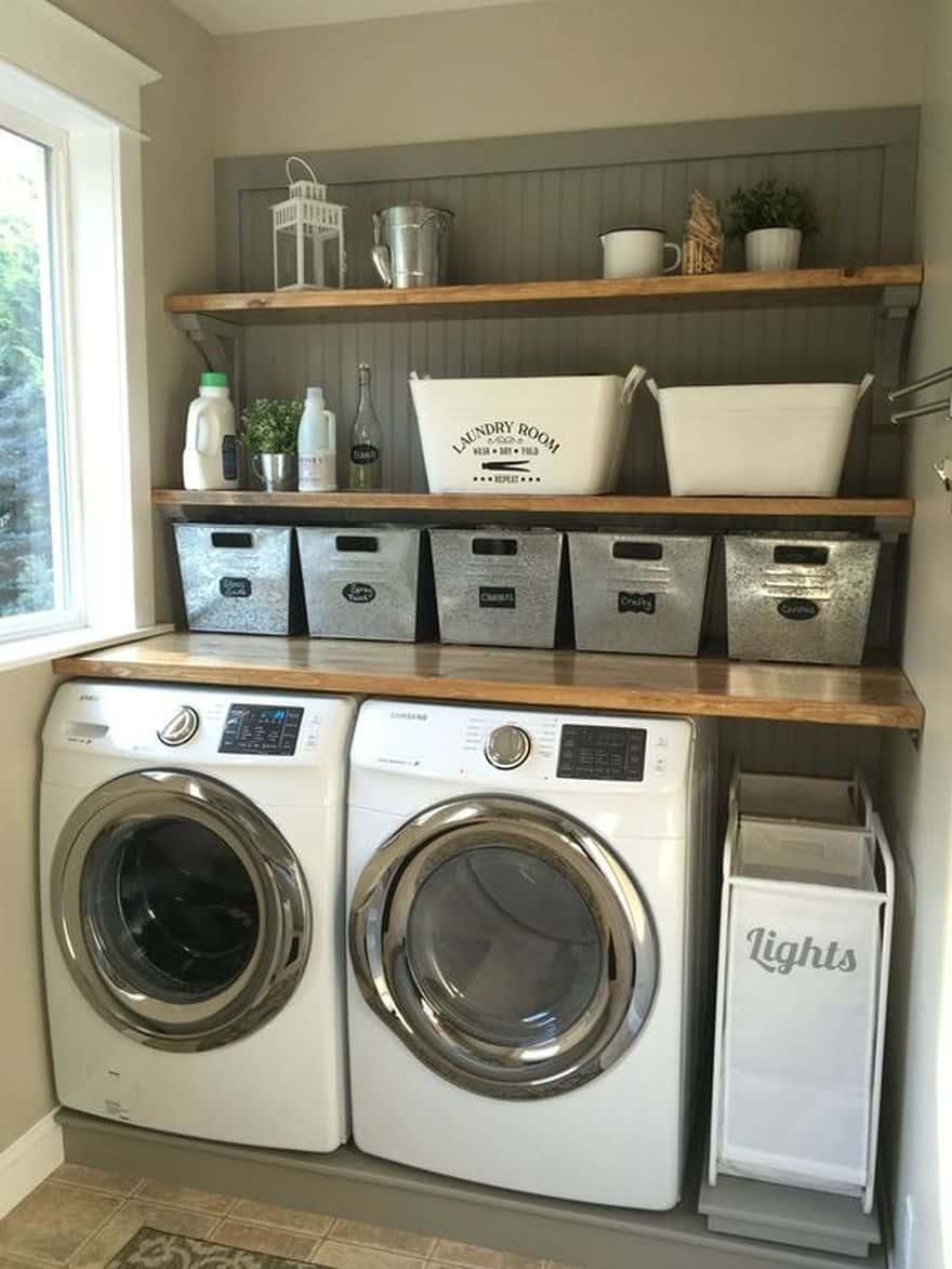 laundry room DYI ideas