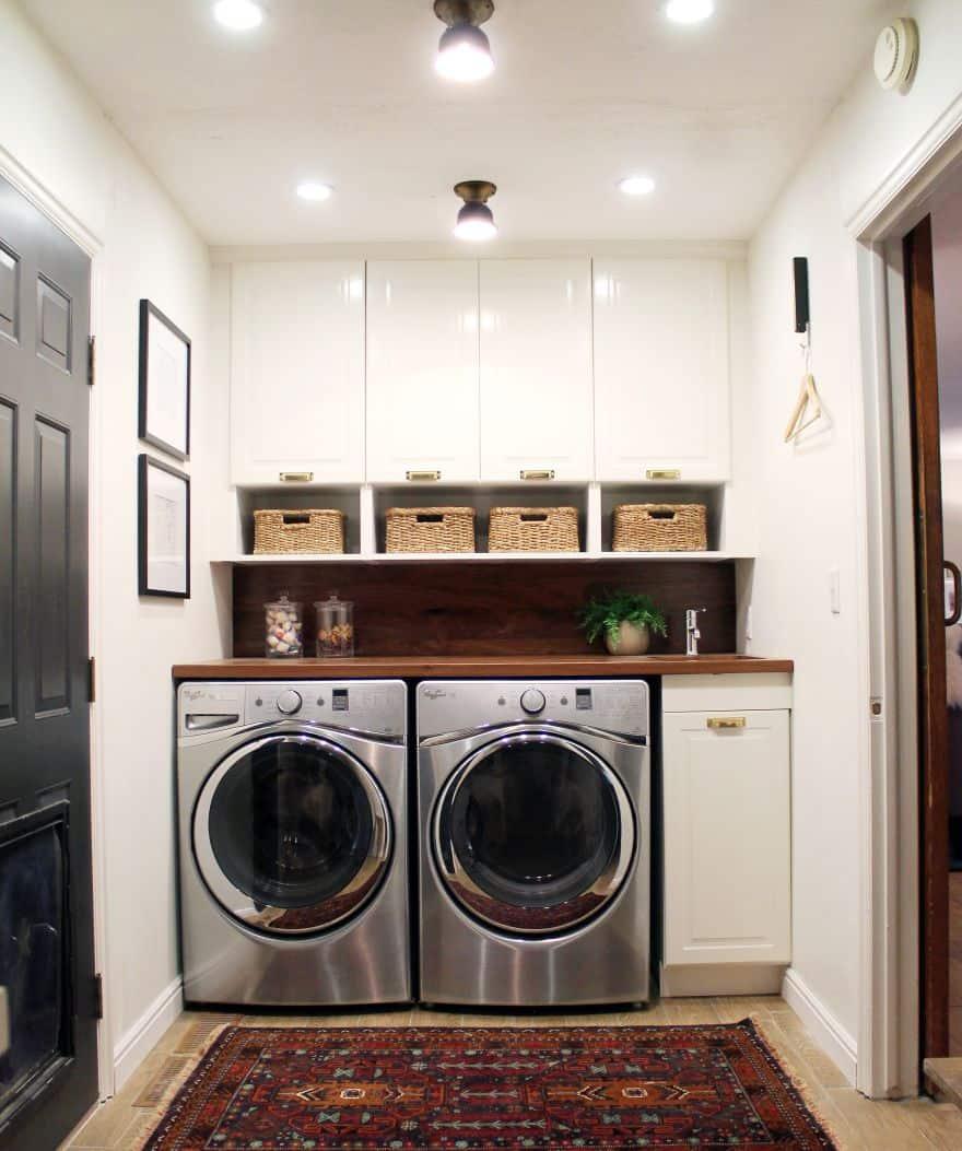 perfect laundry room location