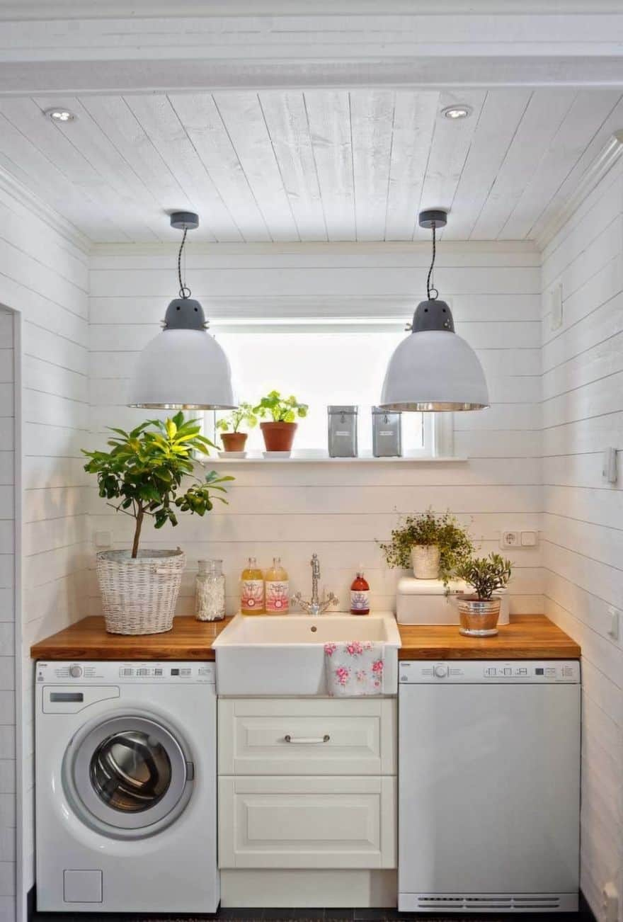 small laundry room ideas clever laundry room ideas to inspire you 30661