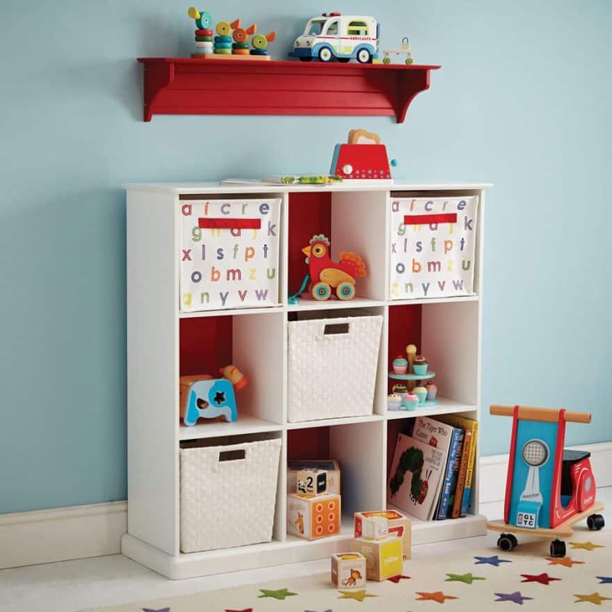 toy organizer shelves
