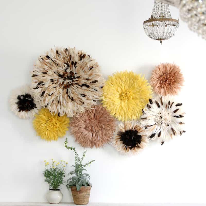 color mix Juju Hat blank wall decoration