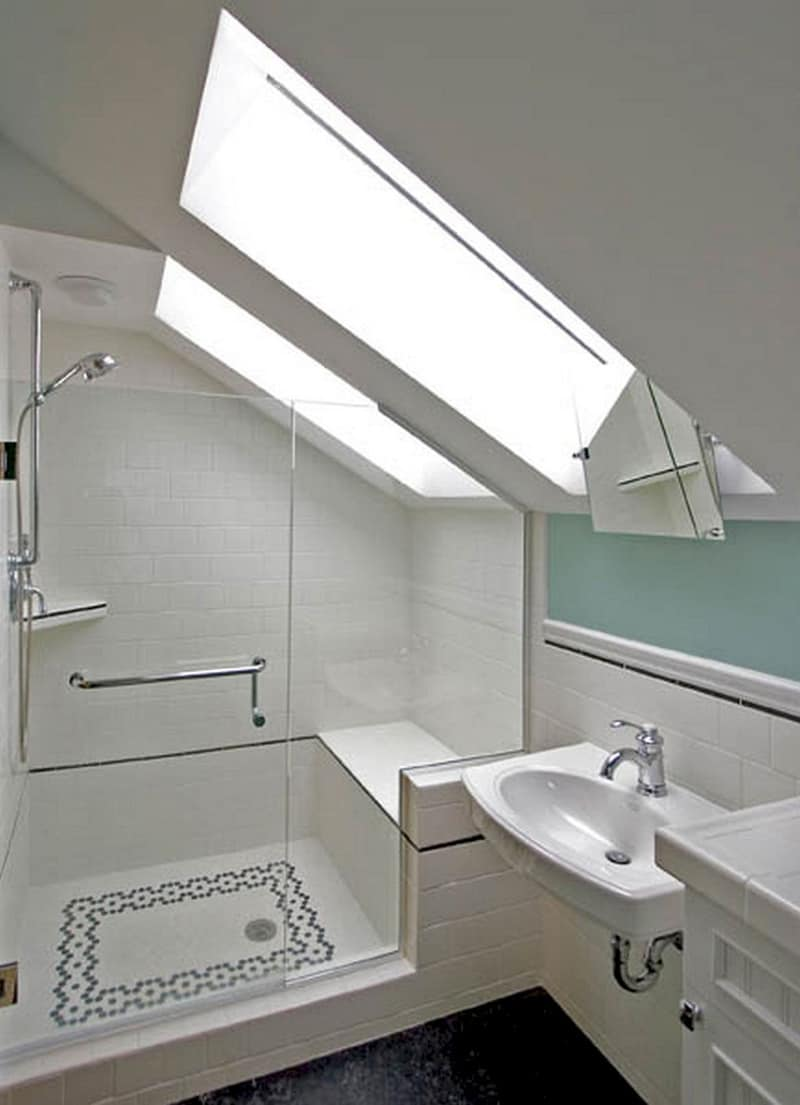 Genius Tiny Bathroom Designs That Save Space
