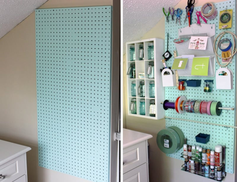 And Donu0027t Forget, Pegboards Donu0027t Stop At Being Great Organizational Tools,  They Can Be Pretty Darn Stylish Too.