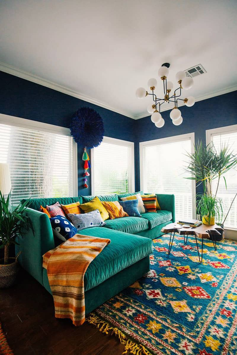 Superb ... Bohemian Living Room Is The Easygoing Feel. This Is, I Would Say, Its  Trademark. Both Furnishings And Accessories Contribute To The Calm, ...