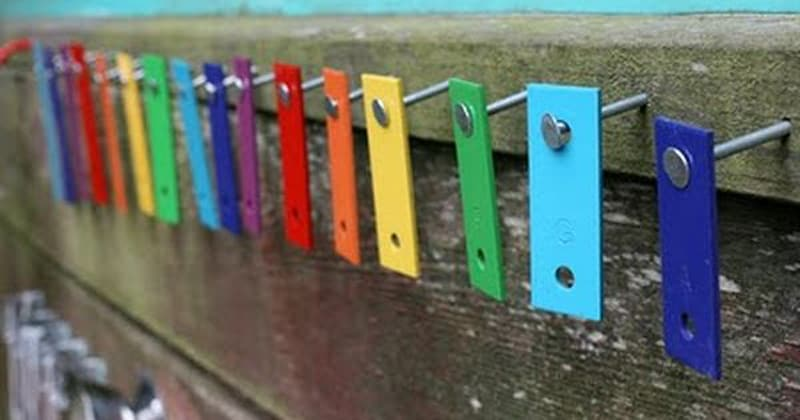 13 Outdoor Music Walls That Will Embellish Your Child