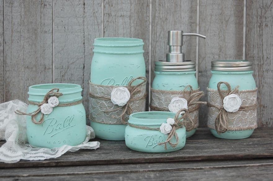 bright teal home accessories