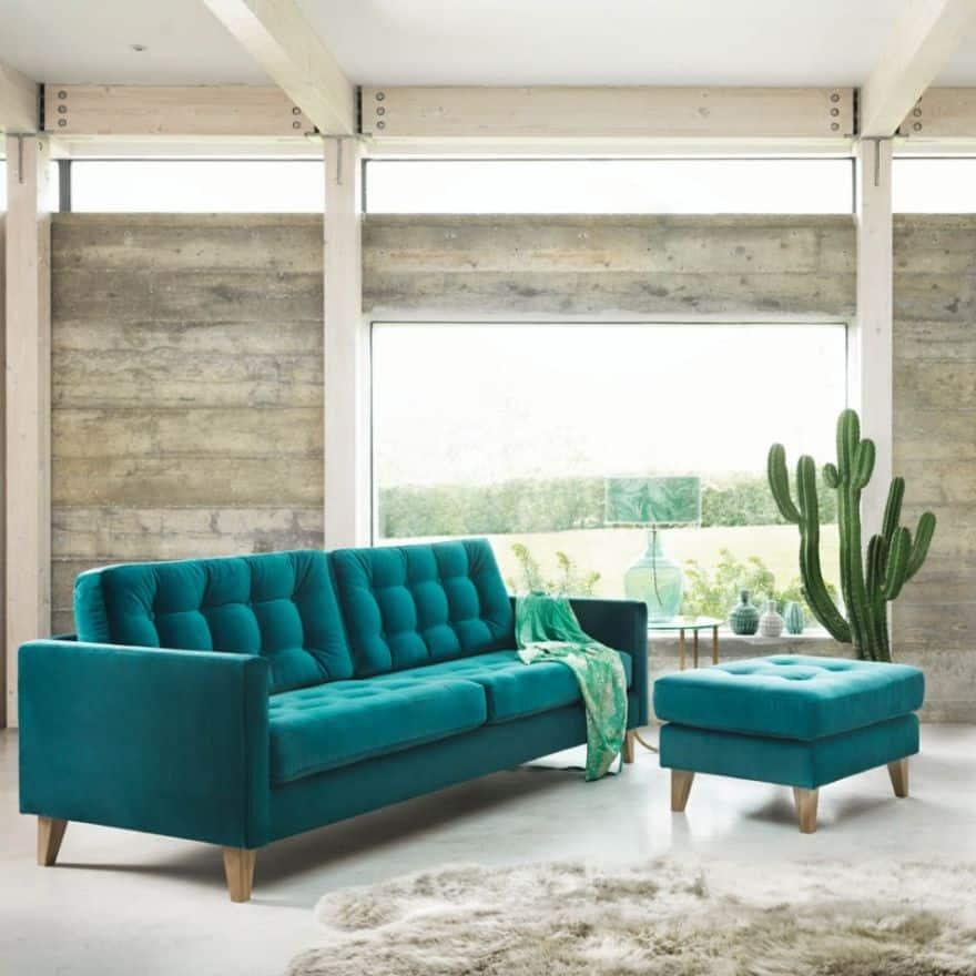 teal furnishings