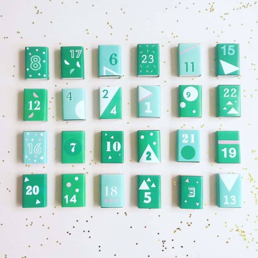 Diy Countdown Calendar : Magical and creative diy advent calendar ideas you ll love