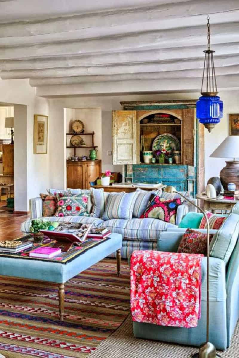 Small Boho Living Room: Comprehensive Bohemian Style Interiors Guide To Use In