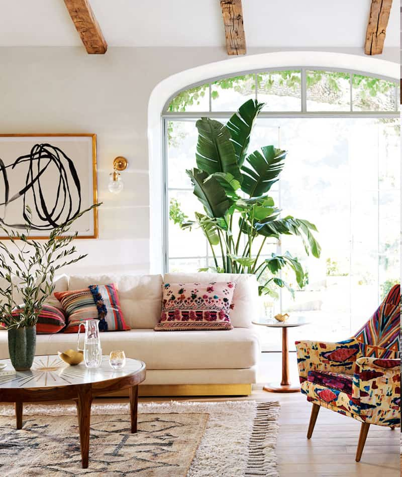 Comprehensive bohemian style interiors guide to use in your home - Boho chic deco ...