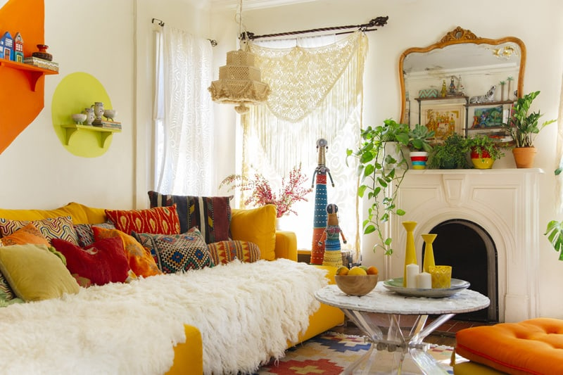 Top 4 Tips For Creating Perfect Bohemian Style Interiors